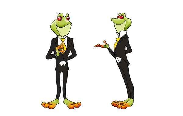 Oaky The Frog