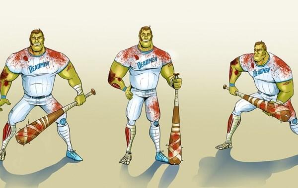 Baseball Zombie (ID61)
